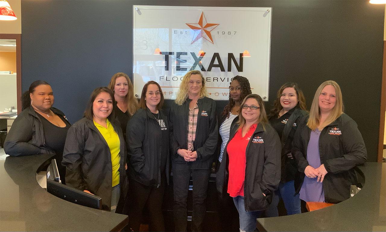 Texan Floor Employees